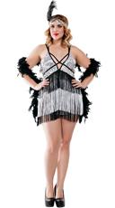 Plus Size Boardwalk Flapper Costume