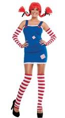Cutie Longsocks Costume