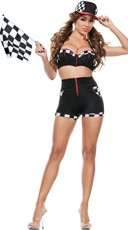 Full Throttle Racer Girl Costume