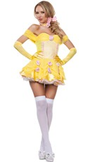 Sassy Yellow Princess Costume
