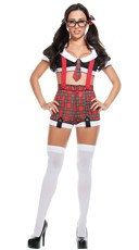 Sexy Detention Diva Costume
