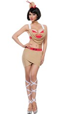 Sexy Fortune Cookie Costume