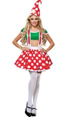 Toadstool Gnome Costume