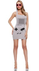 Sexy Handheld Gamer Costume
