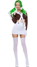 Sexy Chocolate Girl Costume