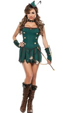 Sexy Robin Halloween Costume