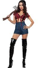 Lady Lumber Jack Costume