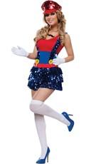 Block Jumping Plumber Costume