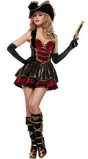 Fancy Pirate Booty Costume