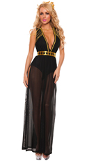 Black Goddess Costume