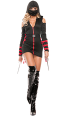 Strapped Up Ninja Costume