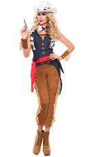 Wild Wild West Cowgirl Costume