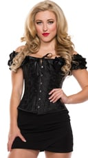 Plus Size Sweetheart Lace Up Corset