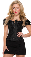 Sweetheart Lace Up Corset