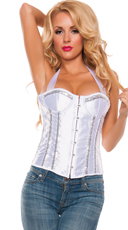 Scandalous Bustier Babe with Sequins
