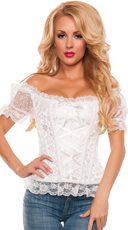 Off-The-Shoulder Flirty Lace Corset