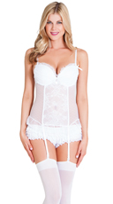 Dainty White Bustier