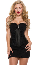 Girls Night Chiffon Cup Corset