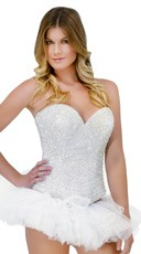 Deluxe Signature Crystal Corset