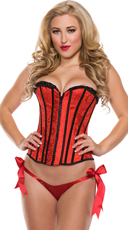 Ravishing Red Sweetheart Corset