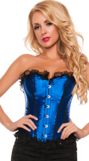 Satin and Ruffles Corset