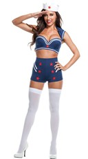 Sexy First Mate Sailor Costume