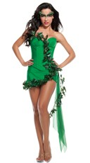 Green Ivy Girl Costume