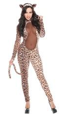 Leopard Leotard Costume