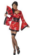 Shot Glass Geisha Girl Costume