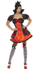 Red Fairytale Queen Costume