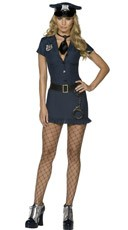 Naughty Cop Halloween Costume