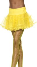Yellow Petticoat With Tulle