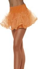 Orange Petticoat With Tulle