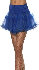Blue Petticoat With Tulle