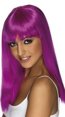 Purple Glamourama Wig