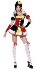 Queen Of Hearts Duchess Costume