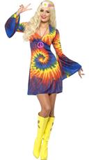 60s Tie Dye Baby Costume