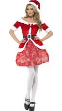 Light Up Sexy Santa Costume