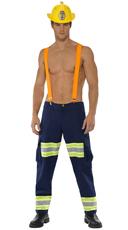 Men's Fever Firefighter Costume