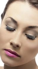 Studded Black Eyelashes