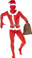 Santa Second Skin Costume