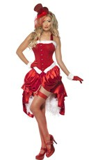 Fever Santa Baby Burlesque Costume