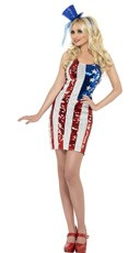 Fever Star Spangled Sequin Dress