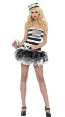 Convict Cutie Tutu Costume
