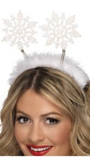 Snowflake Headband Bopper