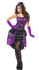 Purple Fever Burlesque Costume