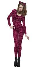Hot Pink Leopard Print Bodysuit