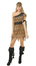 Cute Lady Cavewoman Costume