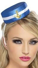 Sailor Pill Box Hat