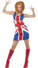 Ginger Pop Star Costume